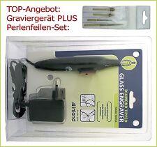 -TOP-Angebot: Graviergerät INLAND 220V / mit Kugelspitze UND Perlenfeilen-Set!