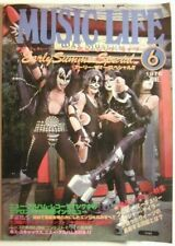 KISS cover MUSIC LIFE Magazine June 1976 Queen