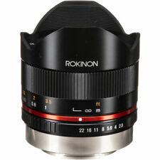 Rokinon 8mm f/2.8 UMC Fisheye II Lens for Fujifilm X Mount, FREE SHIPPING in USA