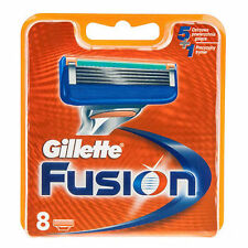 5 X Gillette Fusion Razor Blades of 8 Cartridges ( 40 Shaving Blades)