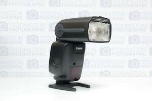 Canon Speedlite 600EX-RT with Case & Accs