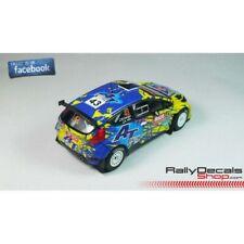 Decalc FORD FIESTA S2000 Rallye WALES 2014 # 43 M.KANGUR