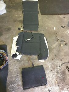 bmw e60 e61 m5 front seat heated some mats SEE PICTURES