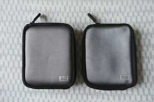 Western Digital My Passport Carrying Case for Portable Hard Drive x2