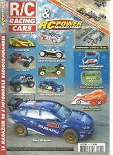 R/C RACING CAR N°191 MOTONICA P181 4X4 / TOYOTA CELICA TAMIYA /SUBARU DRX KYOSHO