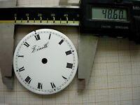 Cadran rond pour montre gousset clock pendulette  ZENITH Zifferblatt dial