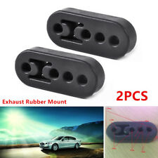 Universal Car Rubber Exhaust Tail Pipe Mount Bracket Hanger Insulator 11mm 4Hole