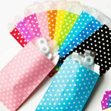 Colorful Polka Dots Paper Bags For Gifts Party Treat Candy Wedding Kids