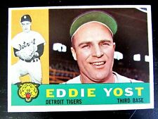 EDDIE YOST • 1960 DETROIT TIGERS • THIRD BASE • TOPPS #245 BC#144 JM