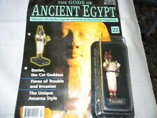 Hachette los dioses del Antiguo Egipto-edición 22-diosa Bastet-el Gato