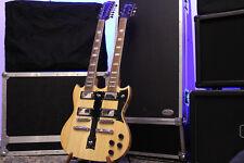 Pasadena Doubleneck Gitarre mit Original Epiphone Teilen ! Top Zustand !