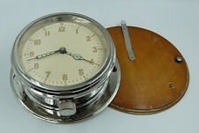 USSR RUSSIAN SOVIET SUBMARINE NAVY MARINE BRASS SHIP WALL CLOCK 4-59
