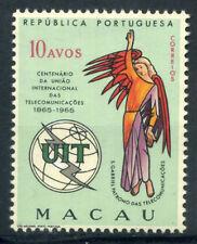 Macao 1965 Mi. 430 Nuovo ** 100% 10 A, ITU,  telecomunicazioni, angelo