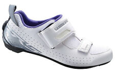 Shimano SH-TR5 Women's Triathlon Cycling Bike Shoes White TR5W - 41 (US 8.5)