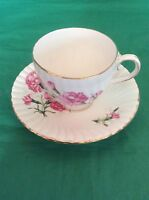 ROYAL STUART BONE CHINA SPENCER STEVENSON ENGLAND CUP & SAUCER