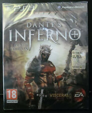 DANTE'S INFERNO DEATH EDITION LIMITED COLLECTOR VERSIONE ITALIANA NUOVO PS3