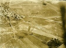 France WWI Bouresches Chateau Thierry Battle Old Aerial Photo July 5 1918