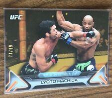 2016 Topps UFC Knockout~LYOTO MACHIDA #49~Gold SP 74/99~MMA