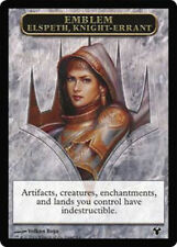 Elspeth, Knight-Errant, EMBLEM NM English x 1  SOLDIER mtg Low Inter Ship