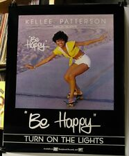 Kellee Patterson-Turn On The Lights-Be Happy-ORIG. 1977 US 28x22 PROMO Poster!