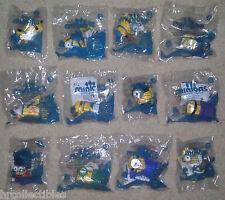 MCDONALDS 2015 MINIONS SET OF 12 talking toys Sealed- FREE SHIPPING