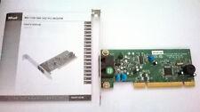 modem fax interno PCI Trust MD-1100 56K V92 RJ11 linea telefono/interno