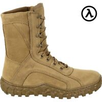"ROCKY S2V TACTICAL 8"" USA-MADE MILITARY BOOTS RKC080 / COYOTE - ALL SIZES - SALE"