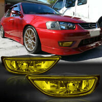 1Pair Car Front Bumper Fog Light Lamp Fit for Toyota Corolla 2001-2002