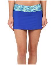 TYR 1008 Women's Blue Sonoma Active Mini Swim Skirt Sz. 8 (US)