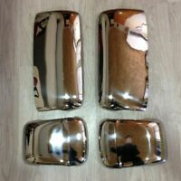 VOLVO 2001-2015 Truck Chrome Mirror Cover 4 Pcs. Stainless Steel