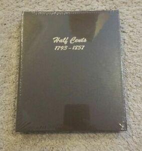DANSCO COIN ALBUM - #7098 Half Cents 1793-1857