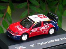 High Speed 1/87 Diecast  Car Citroen Xsara WRC 2004 Rally Monte Carlo Winner #3