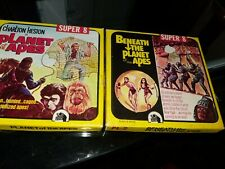 Charles Heston in Planet of the Apes and Beneath the Planet of The Apes Super 8