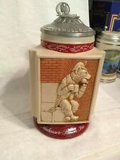 Anheuser-Busch Budweiser Beer Stein: 2002 St. Louis Brewery Icons