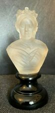 More details for frosted glass bust of queen victoria 1870/1880 - scarce well modelled