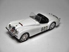 "Jaguar XK 120 3,5 Ltr Roadster 1948 ""Rally Rallye Alpes"" #603, Brumm 1:43 solo!"