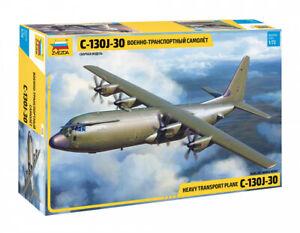 American Heavy Transport Plane C-130J-307324 Zvezda 1:72 NEW 2021 !