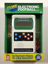 FOOTBALL Handheld Electronic Game 70's Retro Mattel Classic Sounds Lights NEW