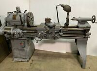 Rockford Economy 14 x 40 Machinist Engine Lathe Metal Cutting Vintage Nice