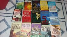 Lot Of 15  Books: Nora Roberts, James Patterson & more
