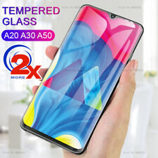 2x 9H Tempered Glass Screen Protector for Samsung Galaxy A20 A30 A50 A70 A8 A6