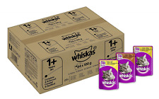 Whiskas Katzenfutter 1+ / Hochwertiges Nassfutter für erwachsene Katzen * T