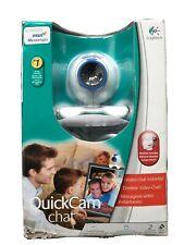 Logitech Quickcam Chat Webcam w/Headset