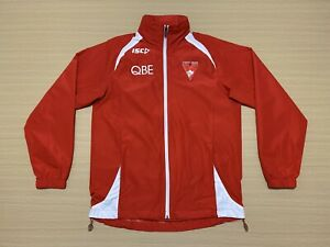 ISC Sydney Swans Jacket Mens ~ Size Small ~ Great Cond AFL Team Coat w/ Hoody