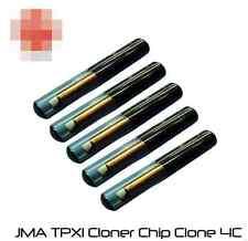 5PCS New Car Key Chip JMA TPX1 Cloner Chip Clone 4C On Sale in stock