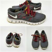 Nike Free Run+ Livestrong Vintage Running Shoes Sneakers Mens Size 7.5