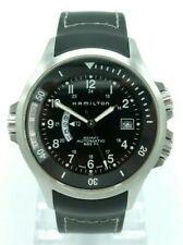 Hamilton Khaki Navy H776151 GMT Mens Watch 2009 Used 42mm
