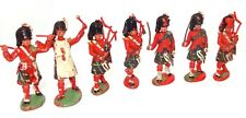 BRITAINS HERALD TOYS - 6 SCOTTISH BAND MEMBERS