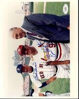 Bobby Brown Bobby Doerr Enos Slaughter Signed Jsa Certed 8x10 Photo Autograph