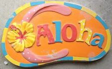 Flip Flop Aloha Stepping Stone Concrete Molds, plaster mold, mould
